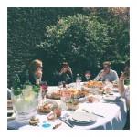 Accueil Presse oklm garden lunch entredeuxmers tasting seafood hardwork whitewine